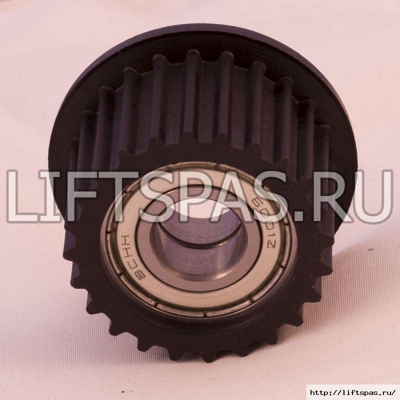 Ролик зубчатого ремня для мотора (для оси)