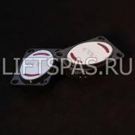 Кнопка для лифта в пластике LS 120.07 BR